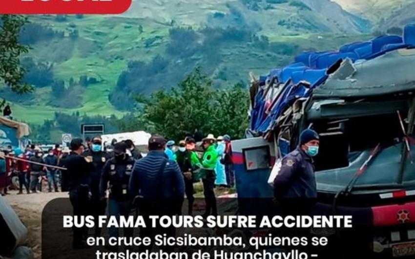 Тяжелое ДТП в Перу, десятки погибших