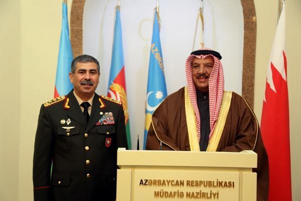 Azerbaijan and Bahrain discuss military cooperation
