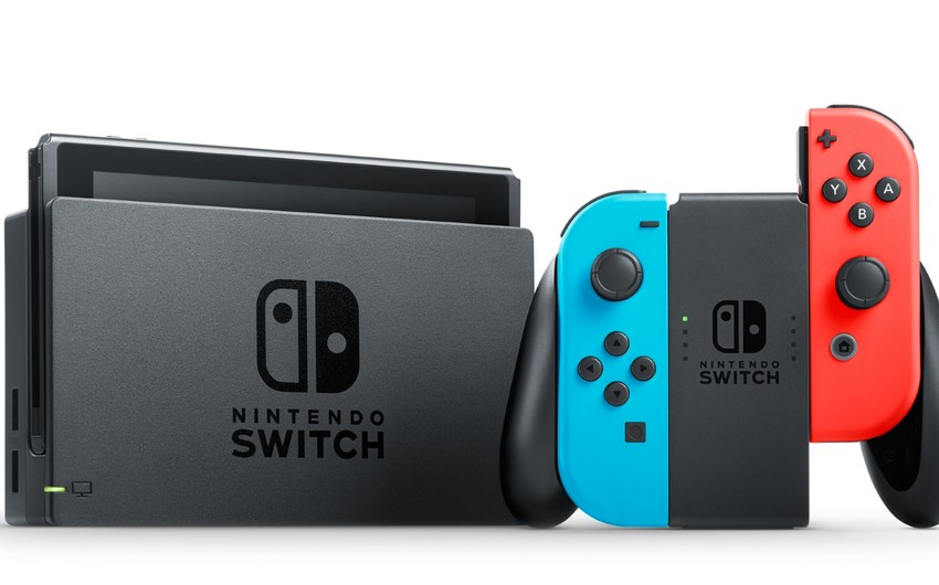 """""""Nintendo"""" """"Switch"""" istehsalını ildə 30 mln konsola çatdırmağı planlaşdırır"""