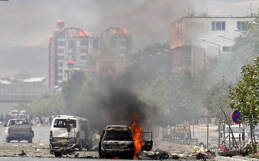 Əfqanıstanda Talibanın hücumu nəticəsində 8 polis öldürülüb