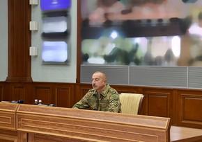 Под руководством президента в Центральном командном пункте МО состоялось оперативное совещание