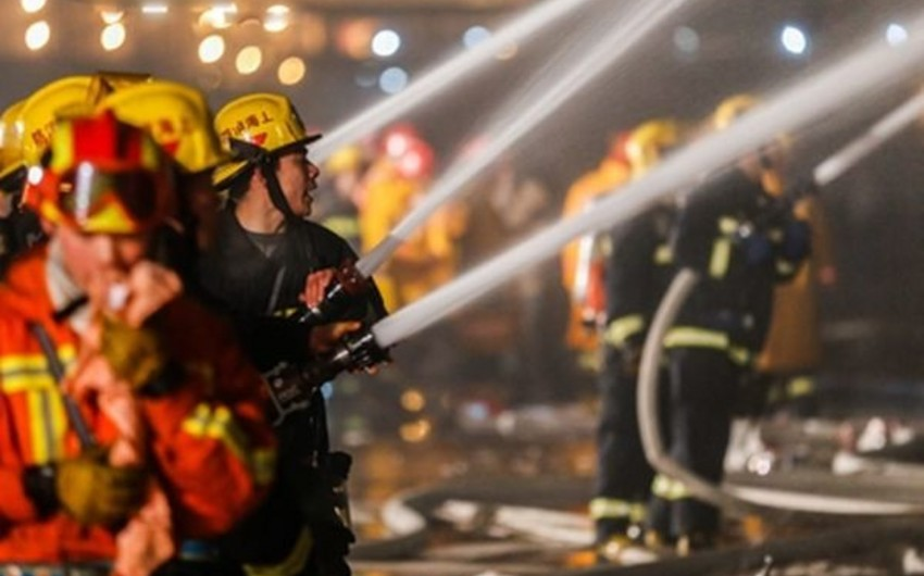 Çinin kök emalı müəssisəsində yanğın 18 nəfərin ölümünə səbəb olub