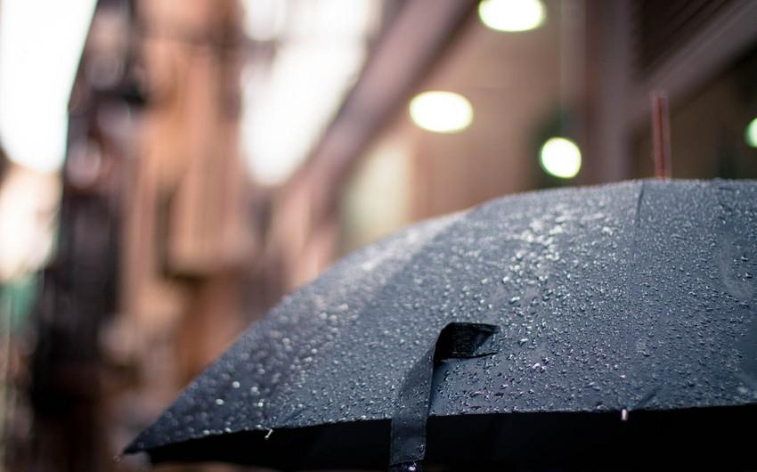 Sabah da yağış yağacaq, dolu düşəcək