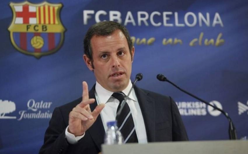 FTB Barselonanın keçmiş prezidenti ilə bağlı araşdırmalara başlayıb