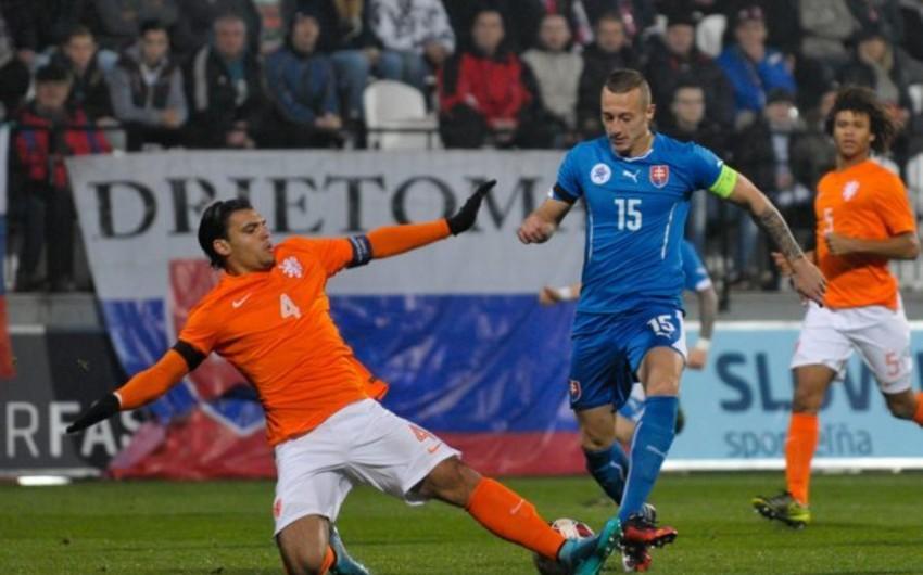 Slovakiyalı futbolçu: Azərbaycana qarşı oyunlar çətin keçəcək