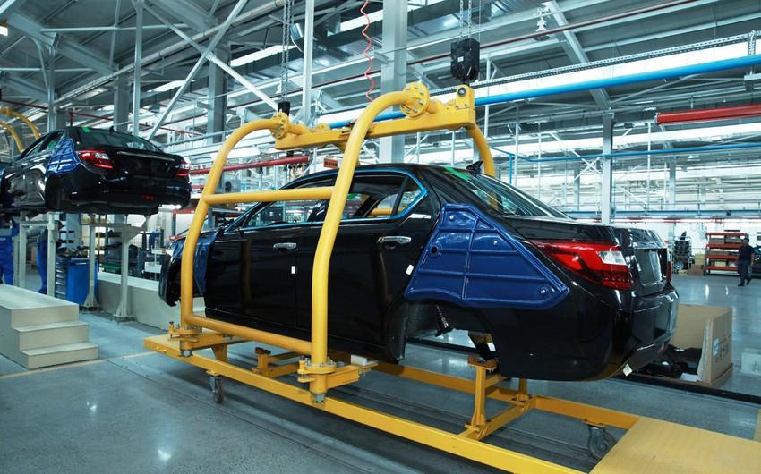 Azərbaycan avtomobil istehsalını 40 %-ə yaxın azaldıb