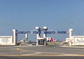 Sumqayıt Kimya Sənaye Parkının rezidenti nizamnamə kapitalını azaldır