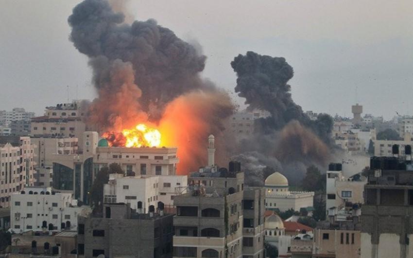 İsrailin Qəzzanı bombalaması nəticəsində 18 nəfər ölüb