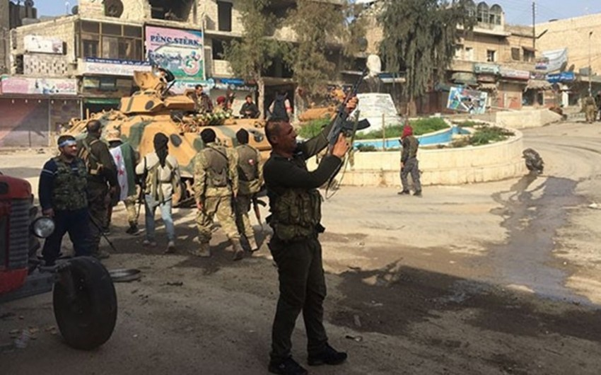 Suriyanın müxalifət qüvvələri Afrin şəhərinə nəzarəti ələ keçirib