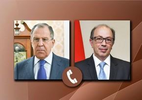Sergey Lavrovla ermənistanlı həmkarı arasında telefon danışığı olub