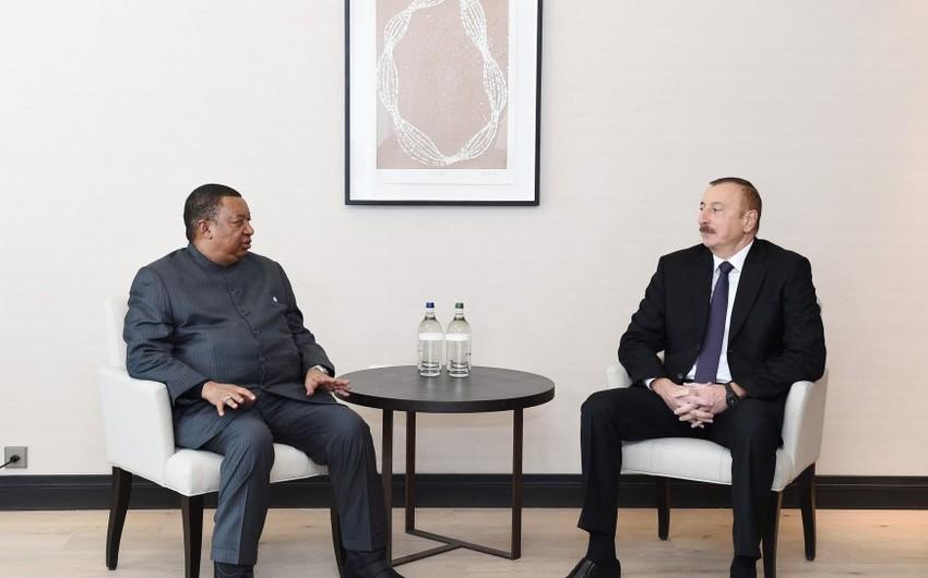 Prezident İlham Əliyev OPEC-in baş katibini Azərbaycana dəvət edib - YENİLƏNİB