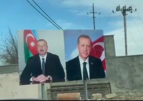Dövlət başçısı Xocalı rayonunun Sığnaq kəndində - VİDEO