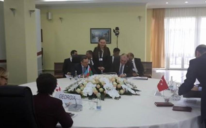 Главы МИД Азербайджана, Турции и Грузии подписали Карскую декларацию