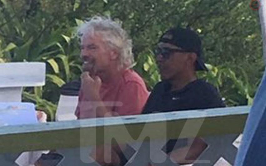 Obama Karib dənizinin Vircin adalarında istirahət edir