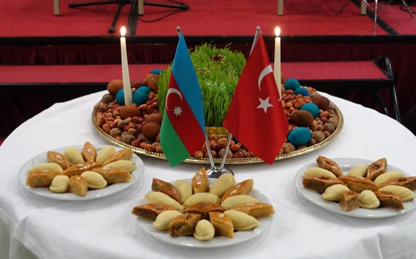 Azərbaycanlılar Ankarada Novruz bayramı münasibətilə tədbir keçirib