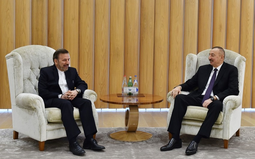 President Ilham Aliyev receives the Head of Iranian Presidential Office