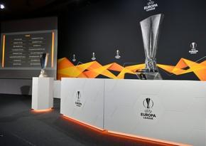 Avropa Liqası: 1/8 finalın püşkü atıldı