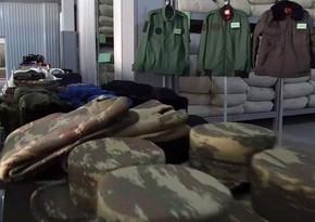 МО: Обеспечение участвующих в боях войск Азербайджанской Армии - на высоком уровне
