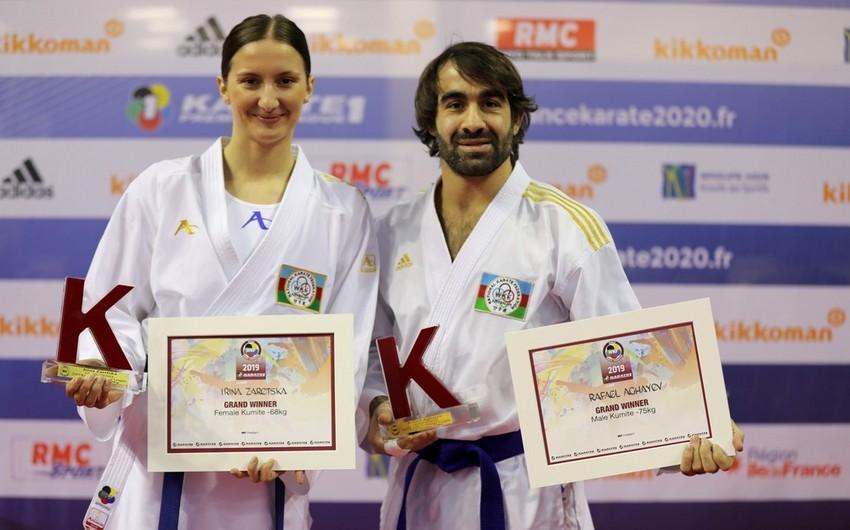 Rafael Ağayev və İrina Zaretska Grand Winners mükafatı ilə dünyanın ən yaxşı döyüşçüləri arasında yer alıblar - FOTO