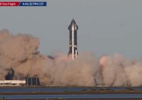Прототип Starship разбился после испытательного полета