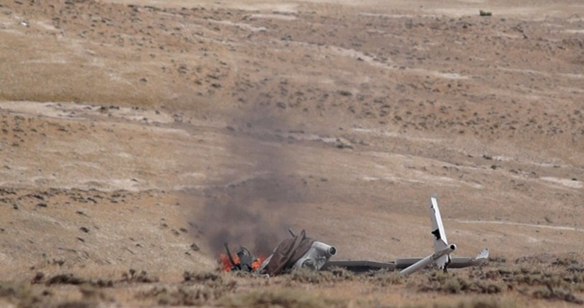 Another Armenian drone destroyed