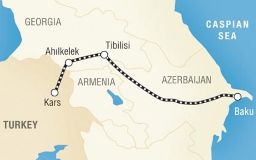 Bakı-Tbilisi-Qars dəmir yolu ilə əlaqədar işçi qrupun toplantısı keçirilib