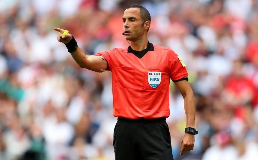 Стали известны судьи матча Азербайджан-Португалия