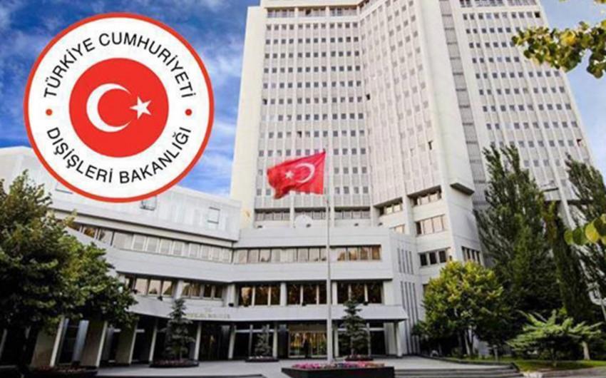 XİN: Türkiyə Ermənistanı atəşi dayandırmağa çağırıb