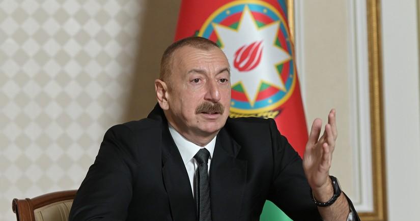 Prezident: Təzminatın ödənilməsi üçün beynəlxalq məhkəmələrdə iddialar qaldırılacaq