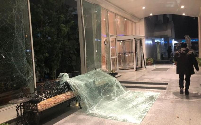 Ankarada güclü partlayış baş verib