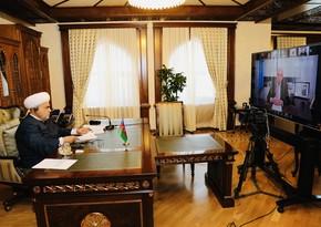 Аллахшюкюр Пашазаде поблагодарил ИСЕСКО за желание помочь реставрировать азербайджанские памятники