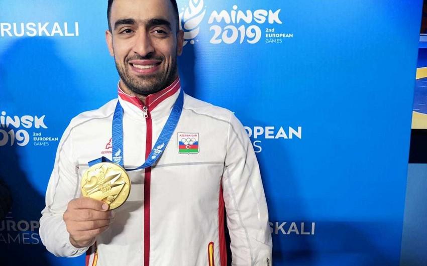 Asiman Qurbanlı: Sevinirəm ki, artıq boynumda qızıl medal var
