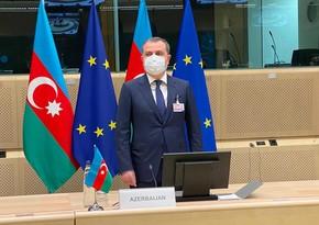 Ceyhun Bayramov Aİ nümayəndələrini Ermənistanın cinayətləri barədə məlumatlandırıb