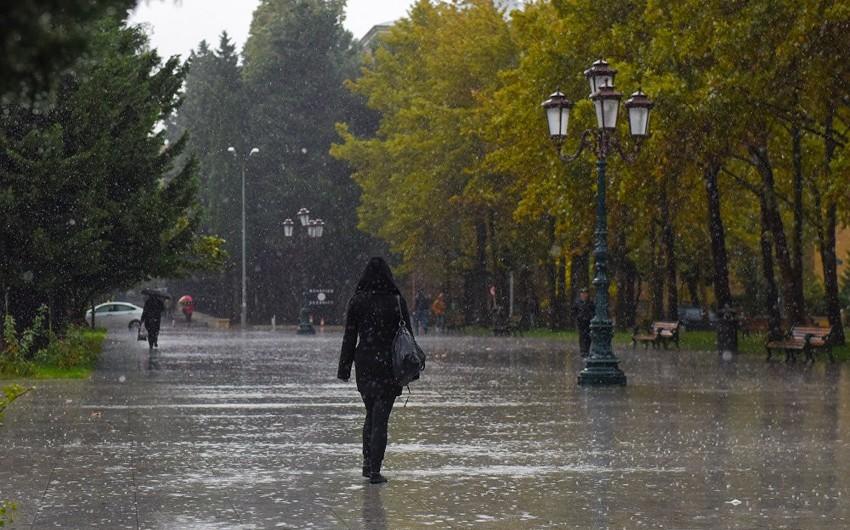 В Азербайджане ожидается нестабильная погода - ПРЕДУПРЕЖДЕНИЕ