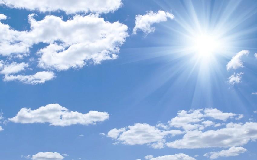 Sabah Bakıda hava şəraiti yağmursuz keçəcək, havanın temperaturu artacaq