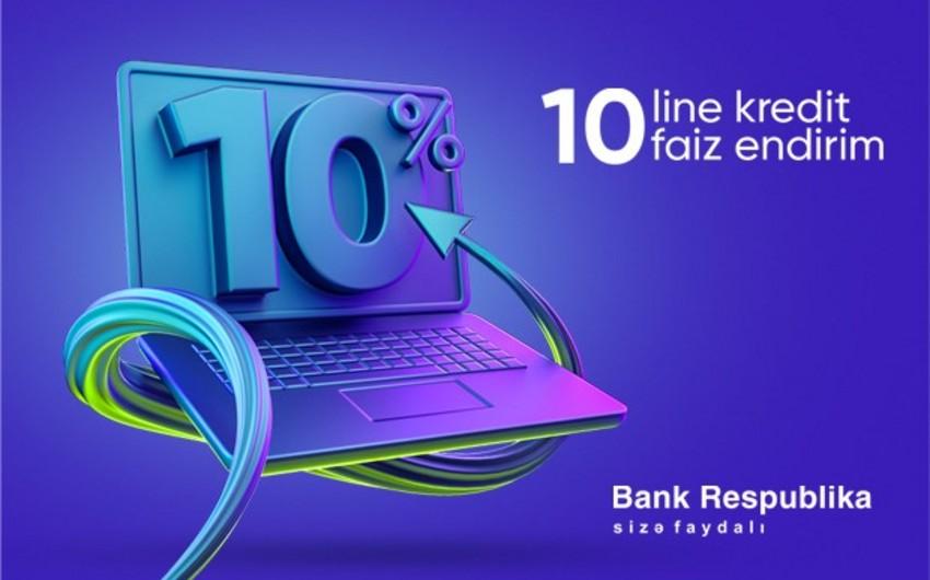 """""""Bank Respublika"""" yeni kredit kampaniyasına start verir"""