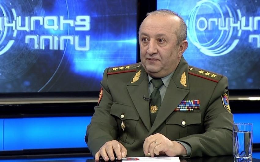 Ermənistanın baş hərbi müfəttişi istefa verib