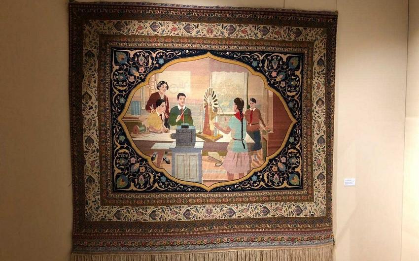 В Москве открылась выставка азербайджанских ковров - ФОТО
