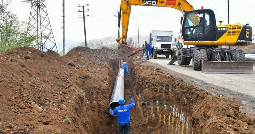 Азерсу построит новый магистральный водопровод в Шушу