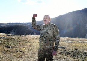 Ilham Aliyev: Everyone had already grown accustomed to the fact that we are going forward