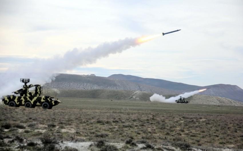 Hərbi Hava Qüvvələrinin taktiki təlimləri keçirilib