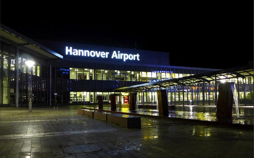 Almaniyanın Hannover aeroportu partlayıcı maddə ilə əlaqədar bağlanıb