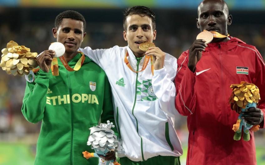 Paralimpiyaçı olimpiya çempionundan daha sürətli qaçıb