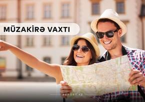 """""""Müzakirə vaxtı"""": Rayonlara gediş-gəlişin bərpası turizm sektoruna necə təsir edir?"""