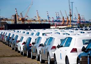 Azərbaycanın Gürcüstandan avtomobil idxalı 10 % azalıb