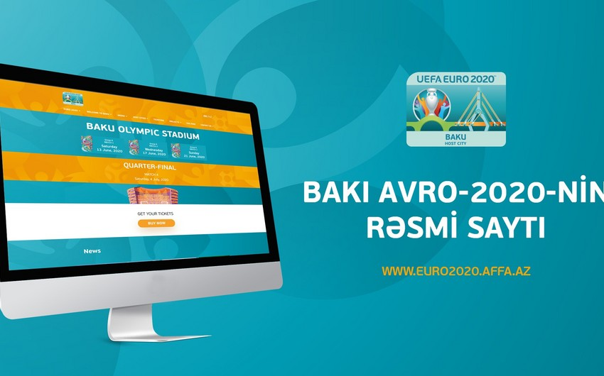New website launched in Baku over EURO 2020
