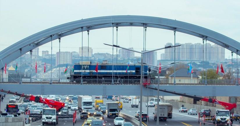 Поезд Баку-Хырдалан-Сумгайыт вновь выходит на линию