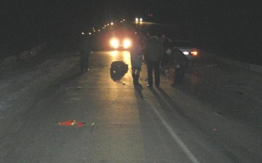 Ağdaşda yol qəzası baş verib, 2 nəfər yaralanıb