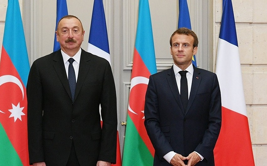 Emmanuel Makron Prezident İlham Əliyevə məktub göndərib