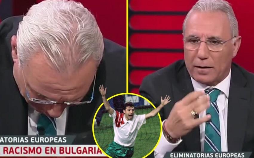 Xristo Stoiçkov UEFA-nı Bolqarıstan klublarını avrokuboklardan kənarlaşdırmağa səsləyib - VİDEO